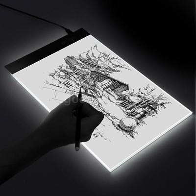 A4 LED Light Drawing Table USB Pad Copy Board Copy Sketch Tracing Zeichentisch