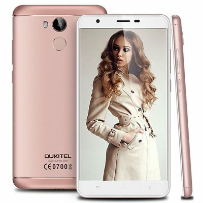 """OUKITEL U15 Pro 5,5"""" 4G Metal Handy 16,0MP 3GB/32GB Android 6 Curved Smartphone"""