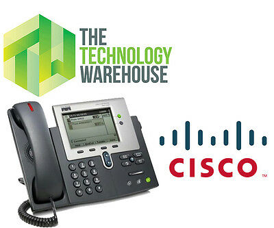 Cisco 7941 Ip Business Phone - Fully Functional Voip Phone