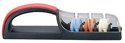 Minosharp Plus 3 Ceramic Water Sharpener 550 - Black/Red