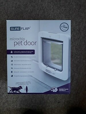 Sureflap Pet Door Flap With Microchip Lock With Timer For Large