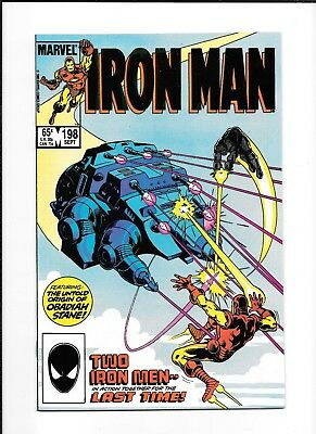 Iron Man #198 Decent (7.0) Marvel