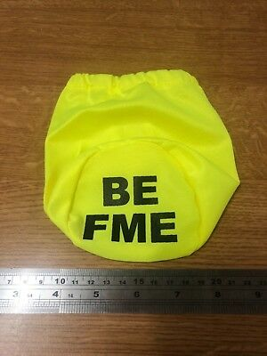 "4"", 6"", 8"", 10"" and 12"" Saturn Yellow Pipe Covers, BE FME."