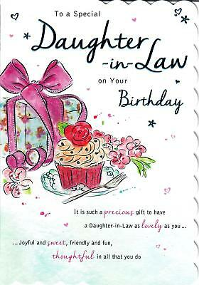BEAUTIFUL TO A Special Daughter In Law On Your Birthday Greeting