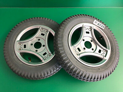 Permobil Pneumatic Drive Wheels for Power Wheelchair ~set of 2~ MINT* #A729