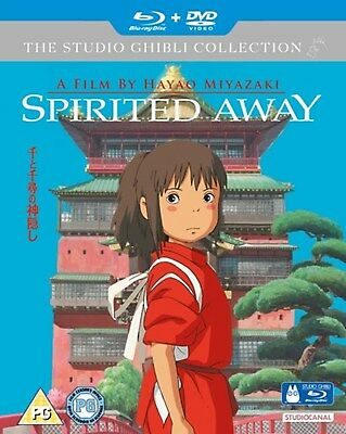 Spirited Away (with DVD - Double Play) [Blu-ray]