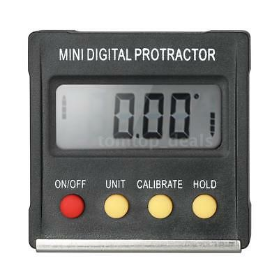 LCD Mini Digital Protractor Inclinometer Level Gauge For Angle Calibration Z5N0