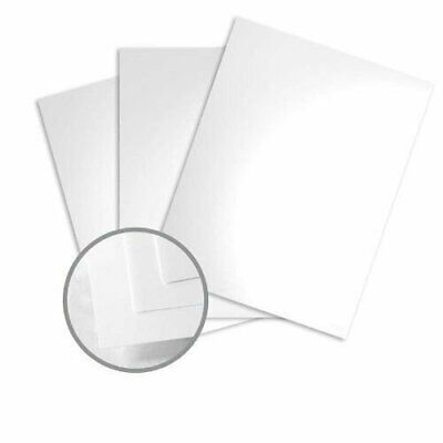 Color Copy Gloss Pure White Card Stock - 8 1/2 x 11 in 80 lb Cover Glossy C/2S 2