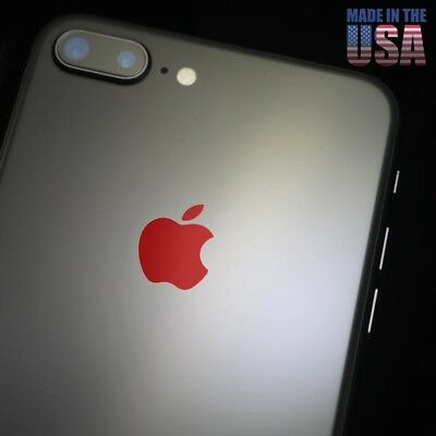 X5 Overlay Color Change for Apple iPhone X, 6, 6s, 7, & 8 Plus Logo Vinyl Decal