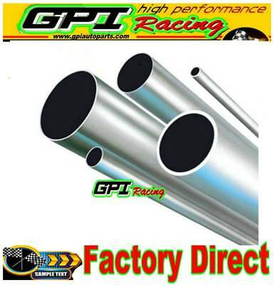 "6061 ALUMINUM TUBE PIPE ROUND 1.5"" ODx1.34""IDx24"" x 0.0787"" W /38x34x600 MM"