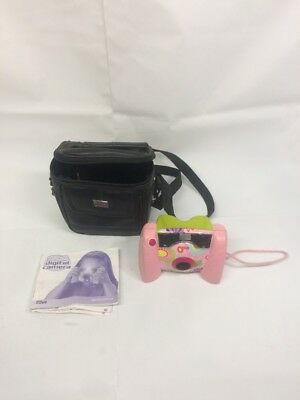 Fisher Price Pink Floral Kid Tough Digital Camera With Case