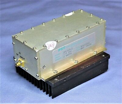 1 - 2 GHz RF POWER AMPLIFIER, 2 WATTS 33 dBm OUT, 33 dB GAIN ComtechPST AM1929-2