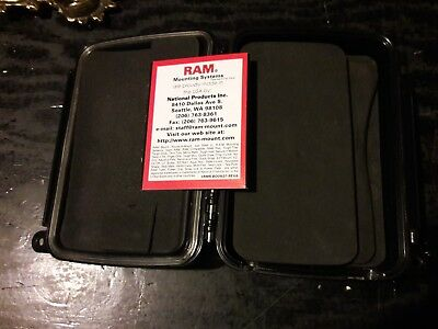 Ram Mount Sealed Enclosure Aqua Box Used For Parts or Repair 6000 series