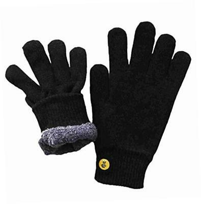 NEW Glove.ly Cozy Gloves, Black, Small BRAND NEW