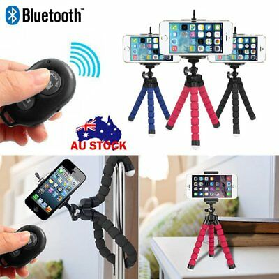 Octopus Tripod Flexible Bracket Holder Stand Mount Remote For Camera Cell Phone