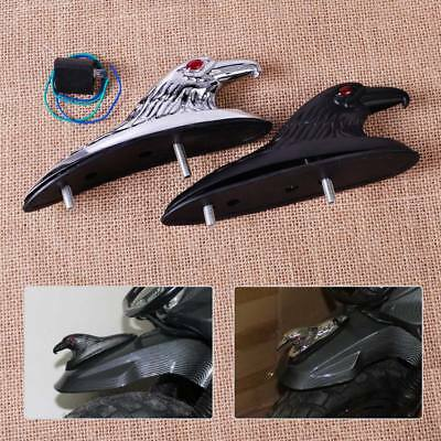 Fit for Motorcycle Front Fender Honda Harley Yamaha Eagle Head Ornament Statue