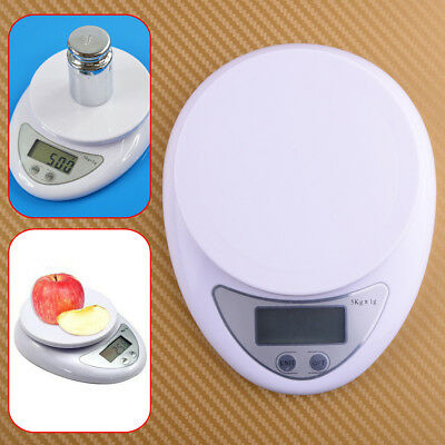 5kg 5000g/1g Digital Electronic Kitchen Food Diet Weight Balance Weighing Scale