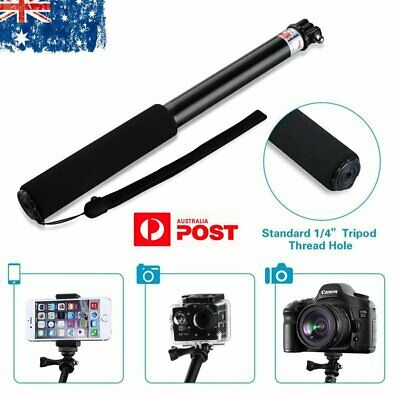 Waterproof Monopod Selfie Stick Pole Handheld Mout for Action Sports Camera AU
