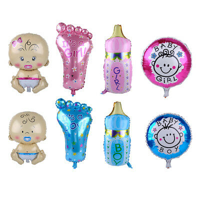 Cute Baby Helium Foil Balloons for Birthday Party Shower Christening Decoration
