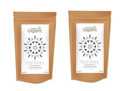 Organic Earl Grey Pyramid Tea Bags  2 Packs for $8.50