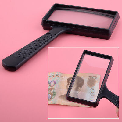 New Large Reading Magnifying Glass Magnifier Map Book Light Aid Lens