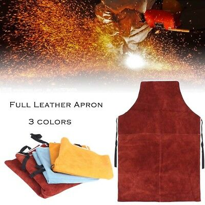 60x90cm Welding Equipment Welder Heat Insulation Protection Cow Leather Apron