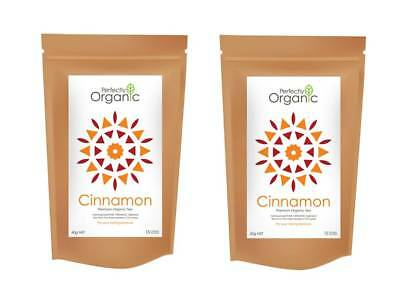 Organic Cinnamon Pyramid Tea Bags 2 Packs for $8.50