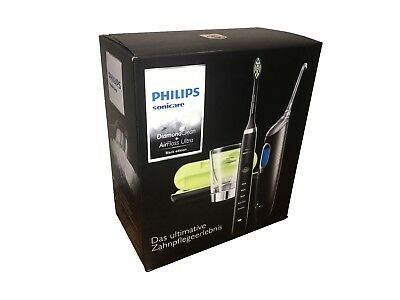 PHILIPS Sonicare DiamondClean & AirFloss Ultra HX8491/03 Black Edition