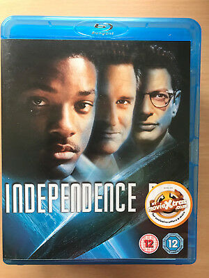 Will Smith Independence Day 1996 Alien Invasion Sci-Fi Classic UK Blu-ray