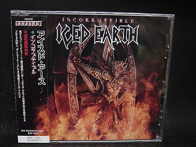 ICED EARTH Incorruptible JAPAN CD Purgatory Demons & Wizards U.S. Power Metal !