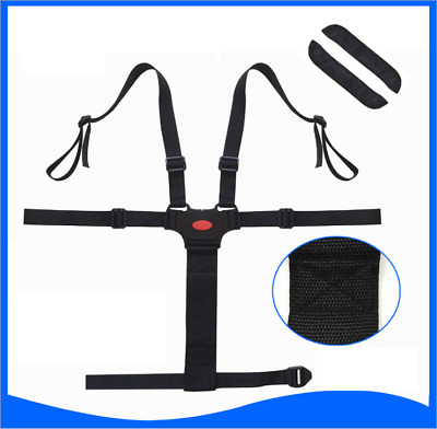 Universal Baby 5 Point Harness Safe Seat Belts For Stroller High Chair Pram