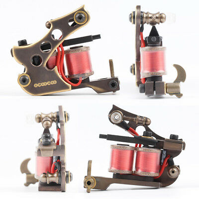 OCOOCOO T150A Pure Cuivre Shader Tattoo Machine Perfect Sculpture sur 10000 R/