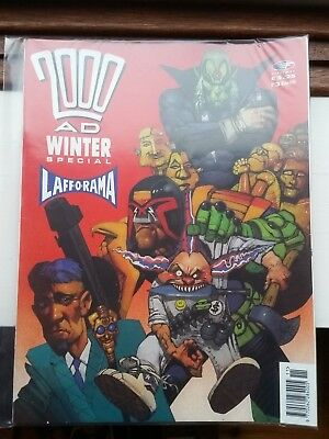 2000AD Winter Special #3 1990 with Judge Dredd