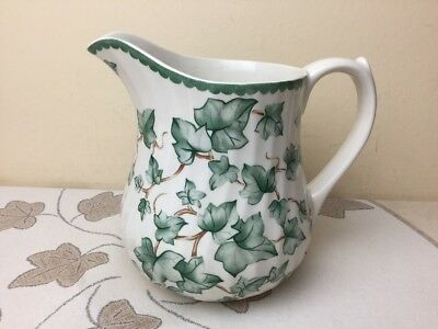 BHS Country Vine Large Custard / Sauce Jug Superb Condition 2 Pint Capacity