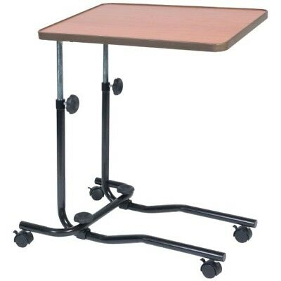 Hospital Tray Portable Over Bed Chair Table Mobility Elderly Food Disability Eq