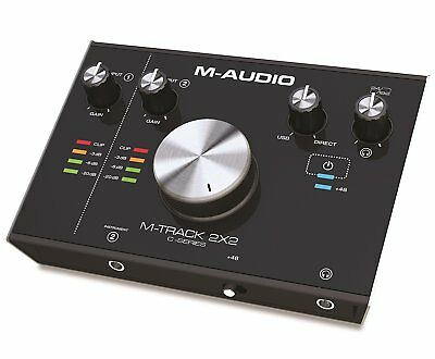 M-Audio M-Track 2X2 2-input/2-output USB Audio Interface FREE shipping Worldwide