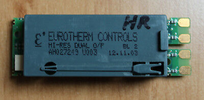 EUROTHERM high res DC retrans & 24VDC PSU module type AH027249U003