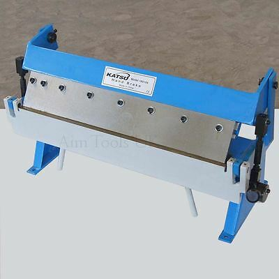 165155 Manual Sheet Metal Bending Folding Machine Bender 610mm 1.0mm