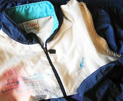 JACKET vintage 80's AUSTRALIAN by l' Alpina TG.52- XL circa made in Italy RARE