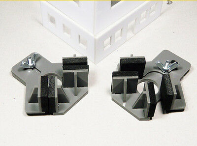 Hold & Glue Right angle holders (2pcs) - Proses PR-SS-03