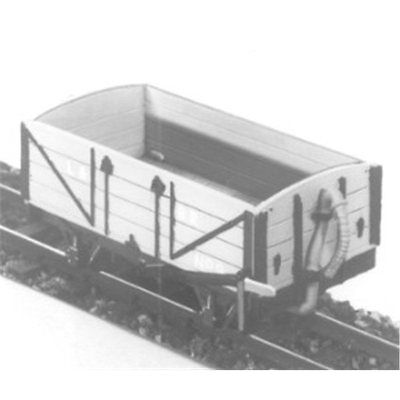 OO9 Lynton & Barnstaple 4-Wheel Open Wagon - Dundas DM14