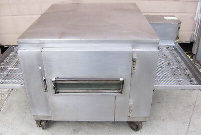 """Impinger Natural Gas Pizza Conveyor Oven 32"""" inch wide belt opening. Sub Doors"""