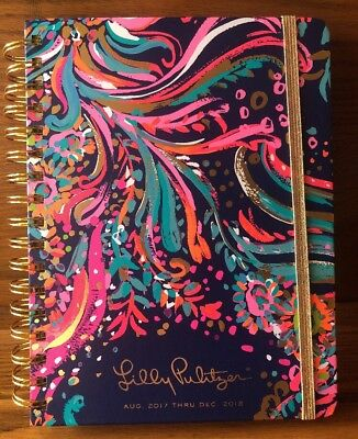 2017-2018 Lilly Pulitzer Agenda Monthly Day Planner