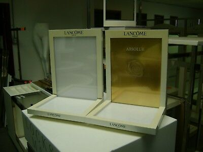 Lancome Retail White   / Cosmetics / Jewelry Display Set Of 2