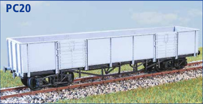 free post LNER Extra Long Cct 4 Wheel Parkside PC30 OO gauge