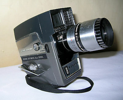 "Revere, 8mm Movie Camera, Model 141, with Wollensak ""Cine-Zoom"" Lens"
