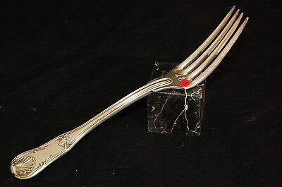 15- Emile Puiforcat Fork Covered Exhibition Numbered Silverware Catalogue