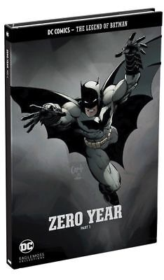 Dc Comics - The Legend Of The Batman - Zero Year - Part 1 - Eaglemoss - New