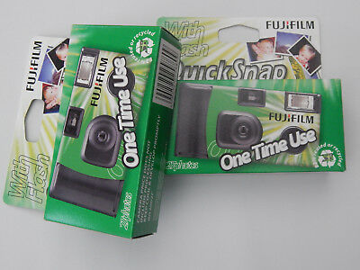 FUJIFILM Quick Snap 35mm One Time Use Camera X 2