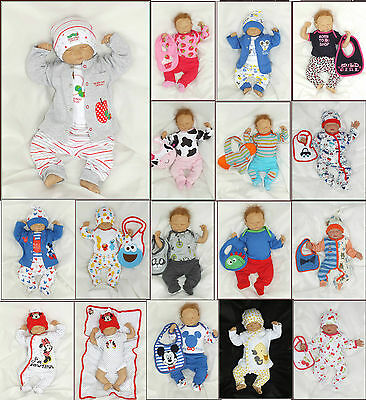 NEW! 4tlg Set Baby Starterset First Outfit Unisex 50 56 62 68 74 englandmode